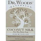 Dr. Woods Coconut Milk Soap w Vanilla Beans & Papaya