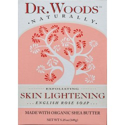 Dr. Woods Skin Lightening English Rose Soap