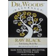 Dr. Woods Raw Black Exfoliating Body Bar