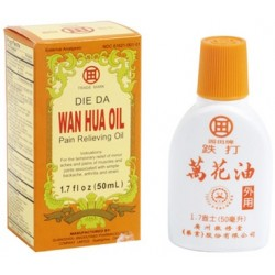 Die Da Wan Hua Pain Relieving Oil