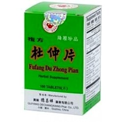 Fufang Du Zhong Pian or Compound Cortex Eucommia Tablets